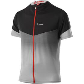 Löffler Stream Full-Zip Bike Shirt Men, gris